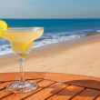 Daiquiri cocktail with ice — Foto Stock