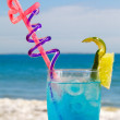 Stock Photo: Cocktail blue lagoon
