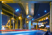 City Road overpass at night — Stock Photo
