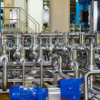 Stock Photo: Pipes, tanks for food industry