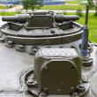 Tank commander's hatch t-54 — Stock Photo