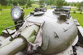 Tower Soviet tank T-54 — Stock Photo