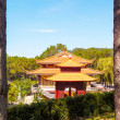 Buddhist temple Vietnam — Stock Photo