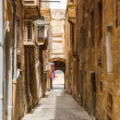 Maltese architecture in Valletta, Malta — Stock Photo