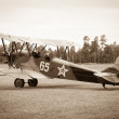 Biplane Polikarpov Po-2, aircraft WW2 — Stock Photo #40845481