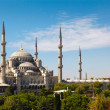 Blue Mosque against blue sky — Stock Photo