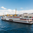Traditional Istanbul passenger ferry — Foto Stock #41331481