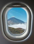 Porthole and crater of the volcano Teide — Stock Photo