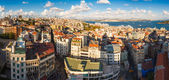 Panorama in Istanbul, Turkey — Foto Stock