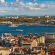 Panorama in Istanbul, Turkey — Stock Photo