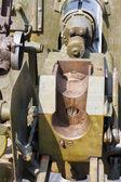Soviet field gun 45mm — Stock Photo