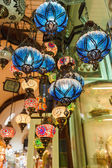 Traditional vintage Turkish lamps — Foto Stock