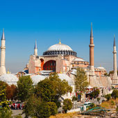 Hagia Sophia against the blue sky — Foto Stock