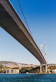 The bridge on Bosphorus — Stock Photo