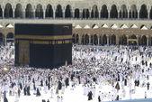Masjid al-haram i mekka, saudiarabien. — Stockfoto