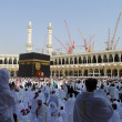 Stock Photo: View of Kaabah from ground level of Masjid Al-Haram.
