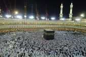 View from second level inside Masjidil Al-Haram. — Stock Photo