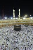 Muslim pilgrim inside Masjid Al-Haram — Stock Photo