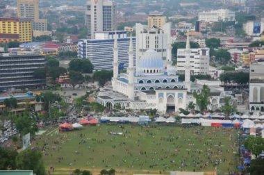 Iftar at Kuantan Town during Ramadhan. — Stock Video