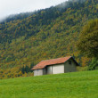 Old farm house in Switzerland — Stock Photo