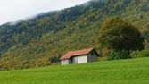 Old farm house in Switzerland — Stock Photo