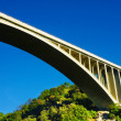 Stock Photo: Bridge with beautiful blue sky.