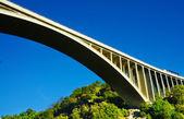 Bridge with beautiful blue sky. — Stock Photo