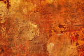 Orange grungy wall background — Stock Photo