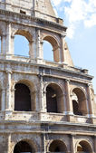 Detail of Colosseum in Rome, Italy — Stock Photo