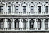 Oude balkons venetië — Stockfoto