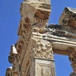 Hadrian temple detail — Stock Photo