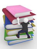 Wspinaczka książki — Zdjęcie stockowe