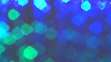 Optic fiber lights — Stock Video
