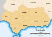 Andalucía — Stock Vector