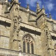 Side view of cathedral of Astorga — Stock Photo #23245734
