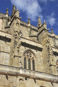 Side view of cathedral of Astorga — Foto de Stock