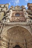 Facade of Astorga Cathedral — Stock Photo