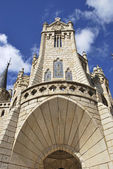 Detail of Episcopal Palace — Stock Photo