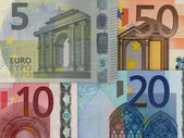 Euro bills — Stock Photo
