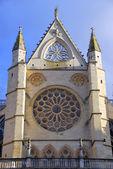 Cathédrale de leon rosace — Photo