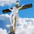 Jesus Christ crucified — Stock Photo