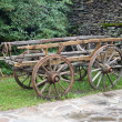 Old wooden cart — Stock Photo #34718075