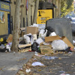 Garbage in Madrid — Stock Photo #35430271
