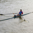 Stock Photo: Rower