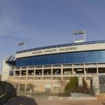 Soccer stadium vicente calderon — Stock Photo #39637347