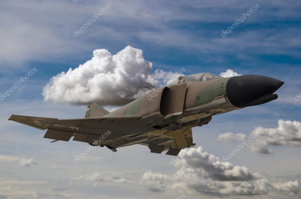 军事喷气式飞机 — 图库照片