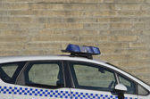Police car siren — Stock Photo