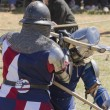 Medieval fighting — Stock Photo