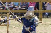 Combattenti medievali — Foto Stock