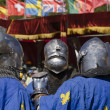 Three french knights — Stock fotografie